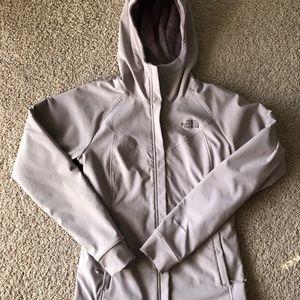 North Face Fleece Waterproof/Windproof jacket